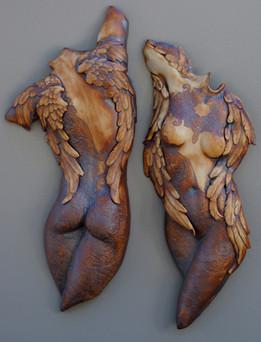 Winged Lace Torso 15x8x3in ea
