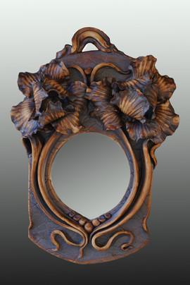 Double Iris Mirror 13x10x3