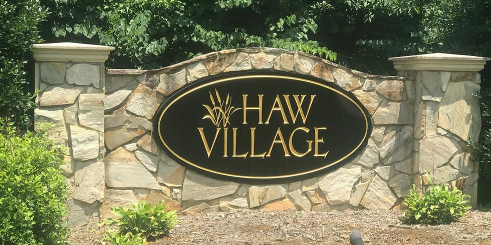 Haw Village HOA Meeting