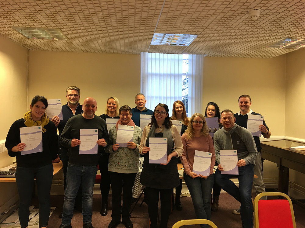 """""""The course was excellent. Provided clear guidelines on how to help people. I have gained so much more confidence and feel more empowered"""" Attendee"""