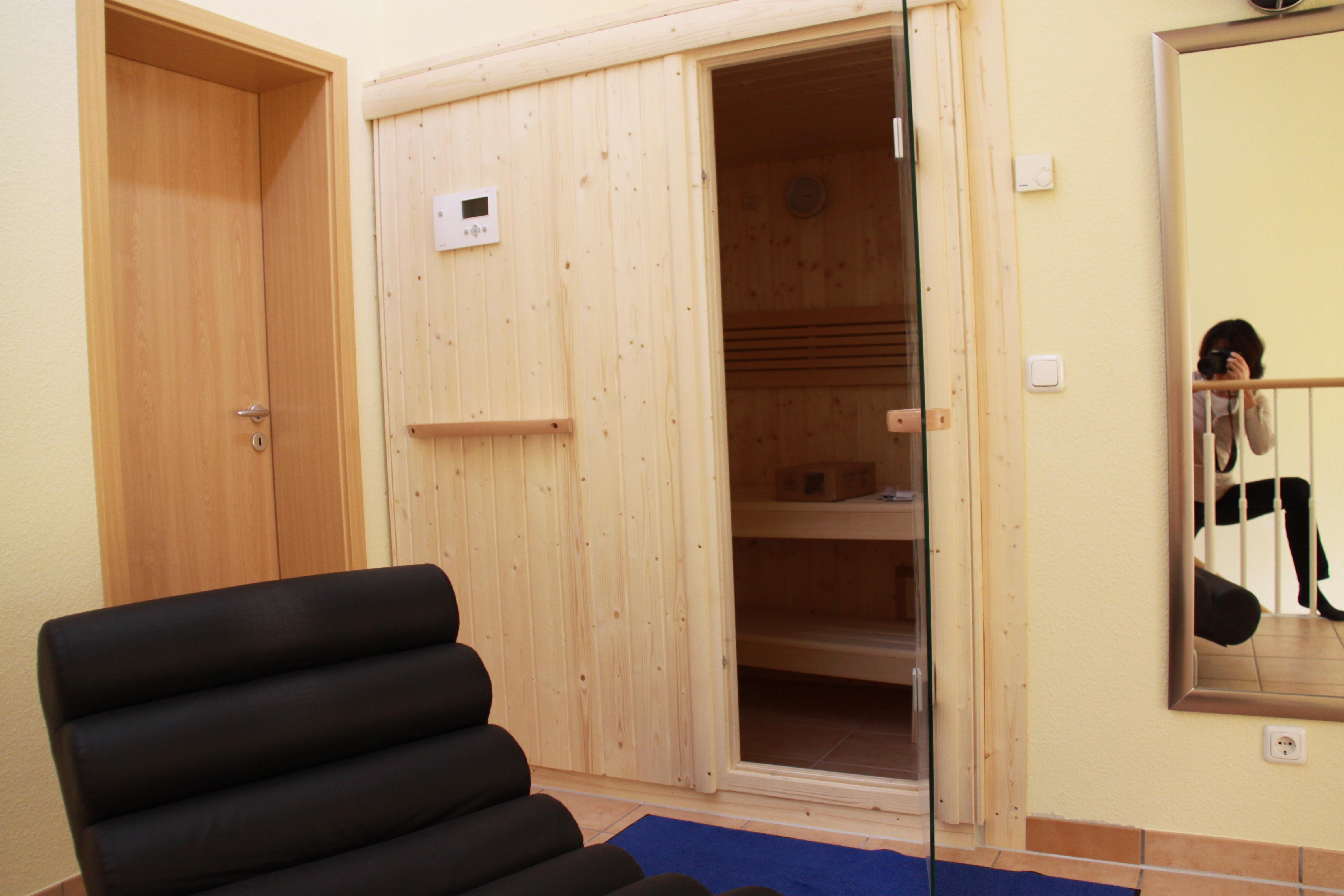 kleine Sauna