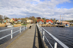 Brücke Hafen Seedorf