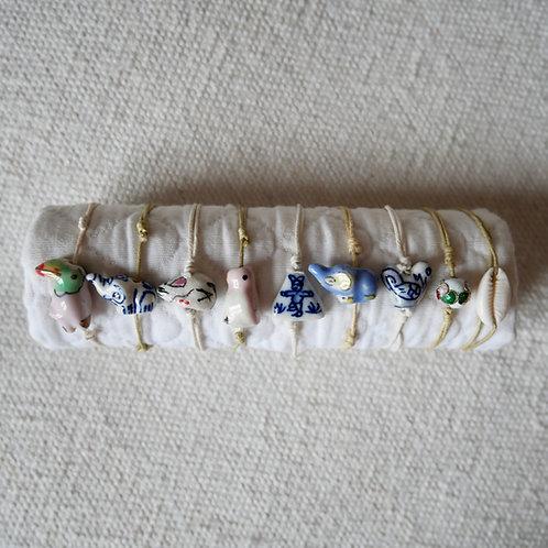 Les bracelets figurines