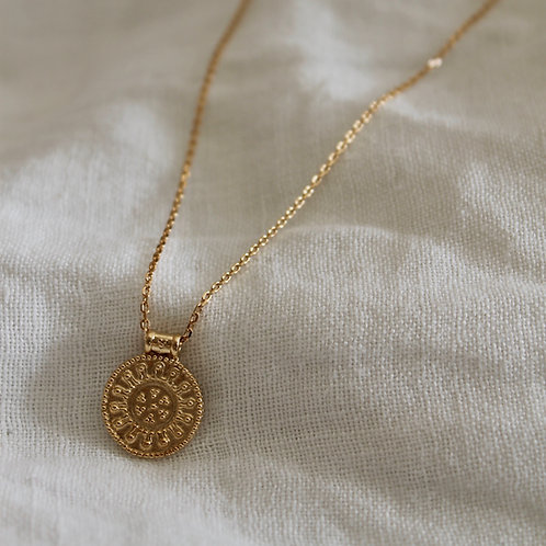 Collier Arabesque - plaqué or