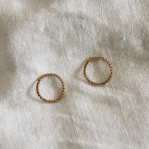 Boucles d'oreilles Moon