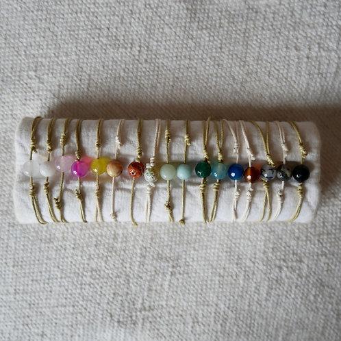 Les bracelet perle d'Agate