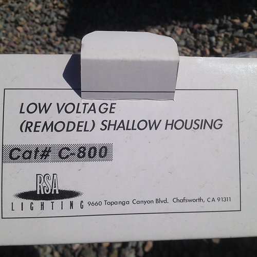 Low Voltage Remodel Shallow Housing Recessed Lighting FixturesDemolition   Deconstruction   Missoula   Waste Less Works  Salvage  . Shallow Housing Recessed Lighting. Home Design Ideas