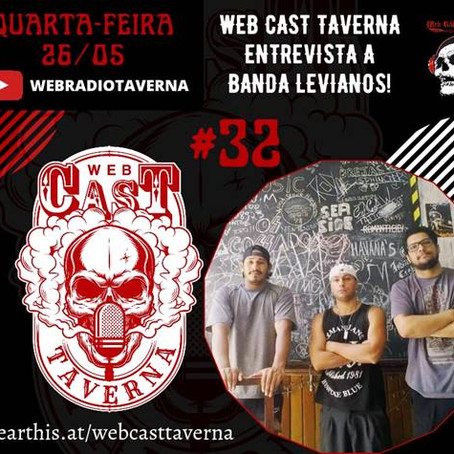 "Levianos: confira a entrevista completa dos músicos da banda ao programa ""Web Cast Taverna"""