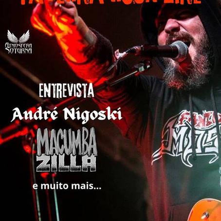 """Macumbazilla: banda é capa de novo edição da revista digital """"Taverna Rock Zine"""""""