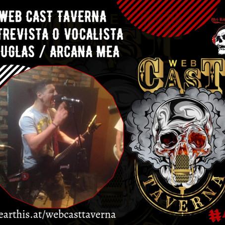 Arcana Mea: Em entrevista ao webcast Taverna, frontman fala sobre planos pós-pandemia!