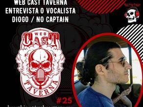 """No Captain: escute entrevista da banda ao canal """"Web Cast Taverna"""""""