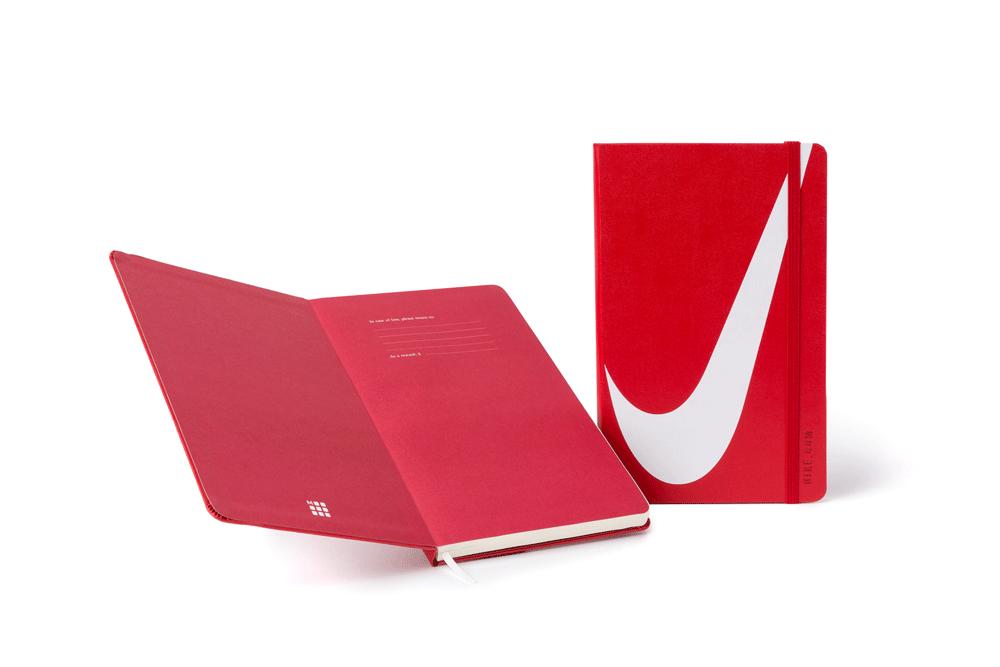 Notizbuch veredelt durch Digitaldruck Nike - Notizgold