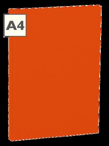 A4 Notizbuch von Semikolon in der Farbe Orange