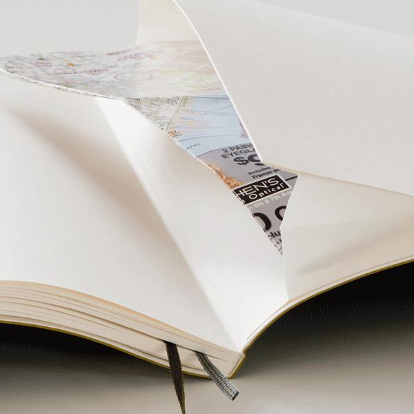 Froschtasche der Premium-Notizbücher von Leuchtturm1917 - Notizgold