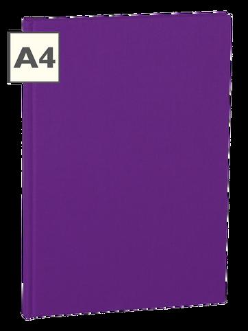 A4 Notizbuch von Semikolon in der Farbe Plum