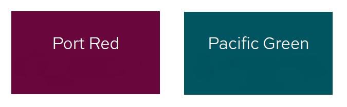 Die neu eingeführten Farben für Notizbücher von LEUCHTTURM1917 Port Red und Pacific Green - Bestellbar auch bei Notizgold