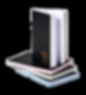 Brunnen Notizbuch Laser Color in A5, das bei Notizgold individualisiert und personalisiert wird.
