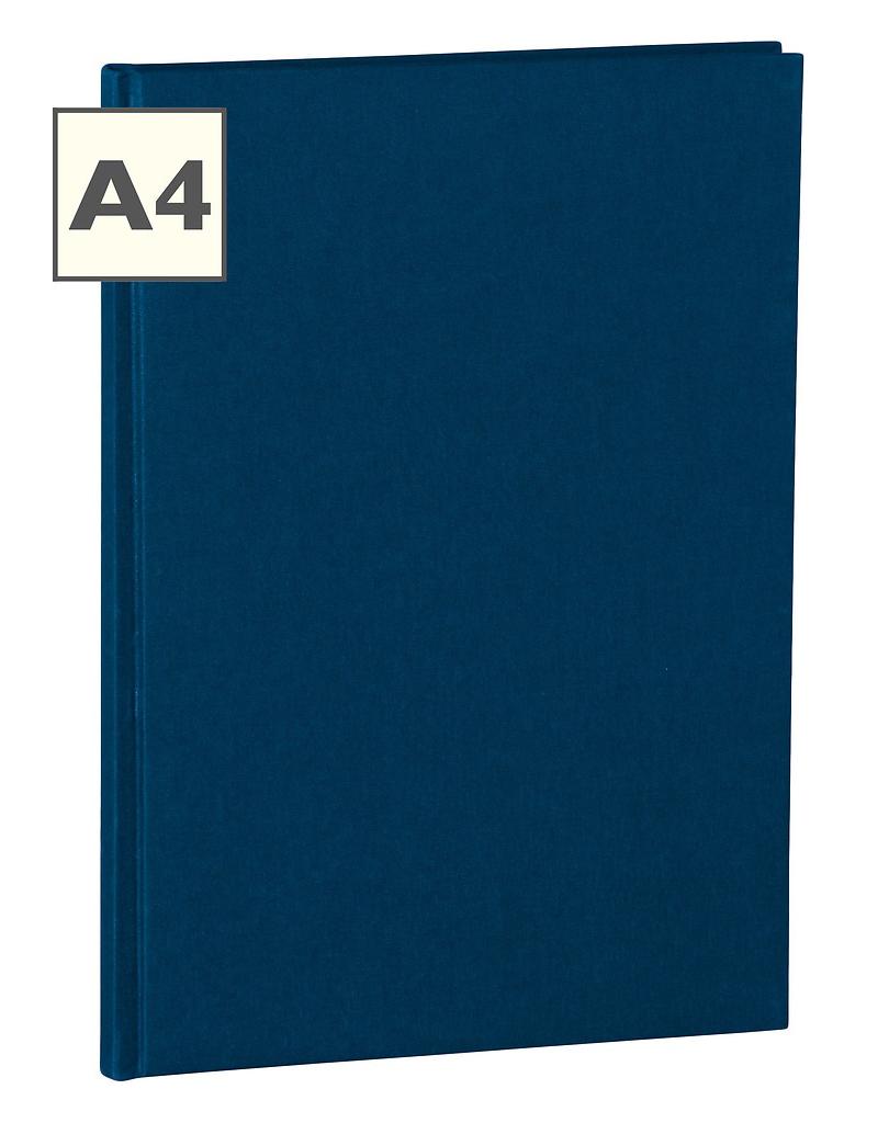 A4 Notizbuch von Semikolon in der Farbe Marine