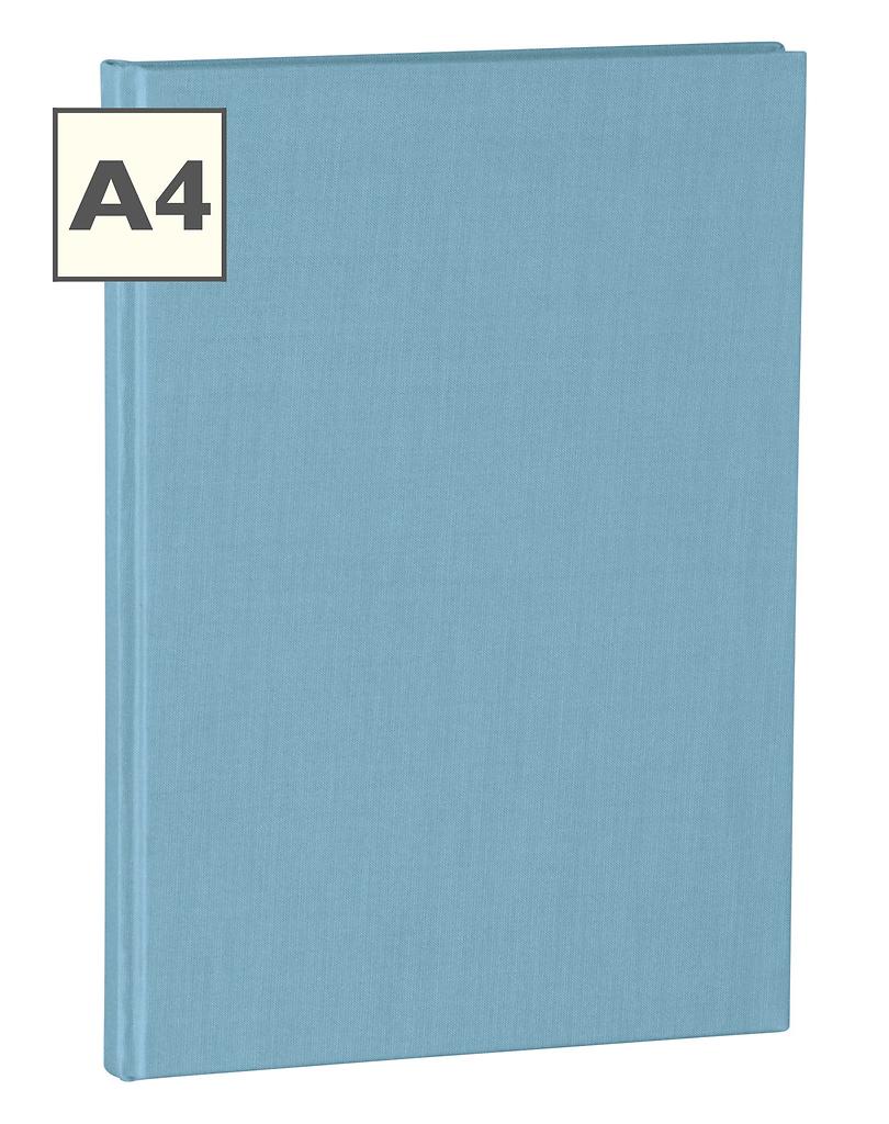 A4 Notizbuch von Semikolon in der Farbe Ciel