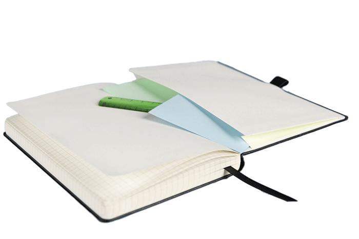 Notizbuch Brunnen Kompagnon Austattung - Notizgold