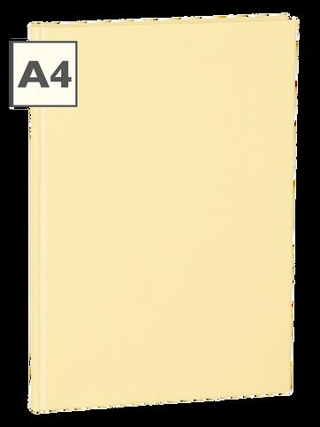 A4 Notizbuch von Semikolon in der Farbe Chamois