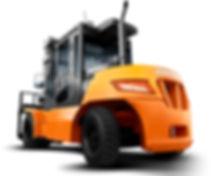 Neues Diesel Gabelstapler 70 kaufen von Doosan 5,5 bis 9 Tonnen - Hahnen Gabelstapler für ganz NRW