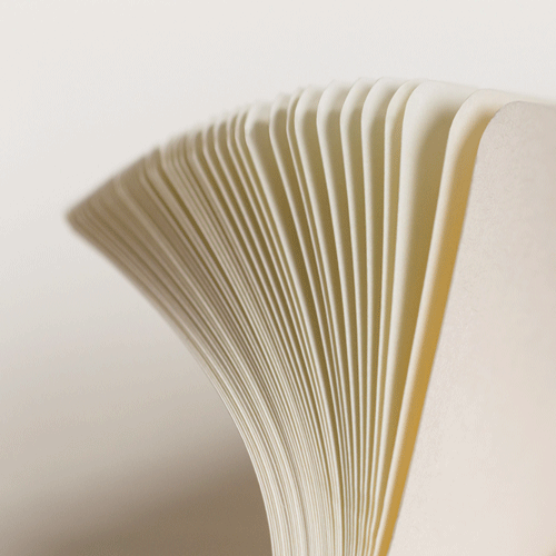 Hochwertiges Papier ind Creme-Farbe bei Leuchtturm1917 - Notizgold