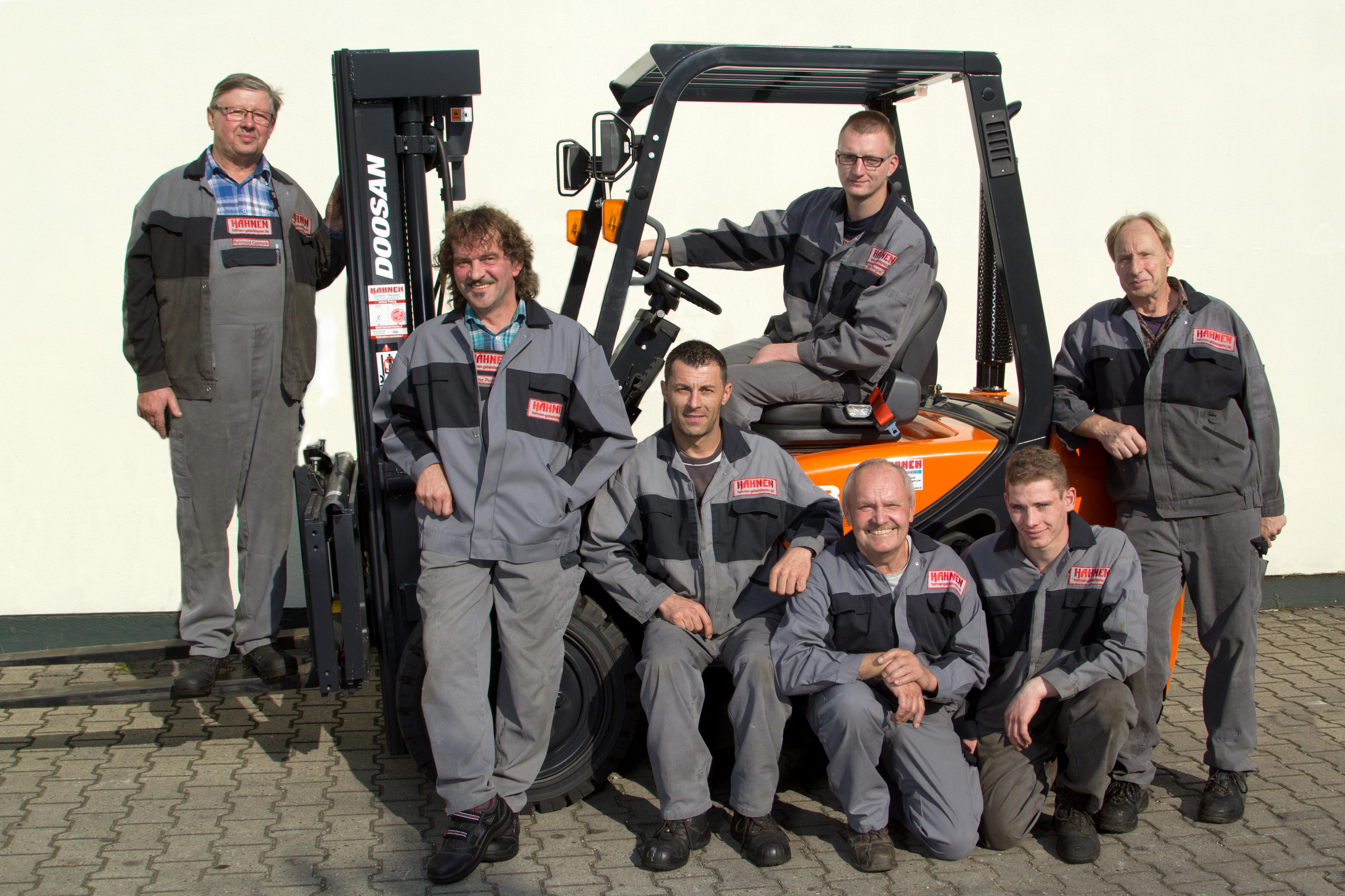 Team Hahnen Gabelstapler