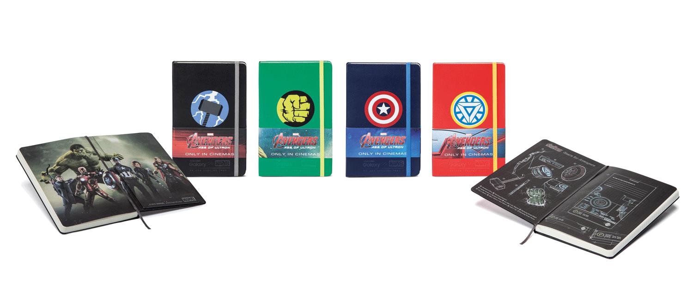 Notizbuch veredelt durch Digitaldruck Avengers - Notizgold