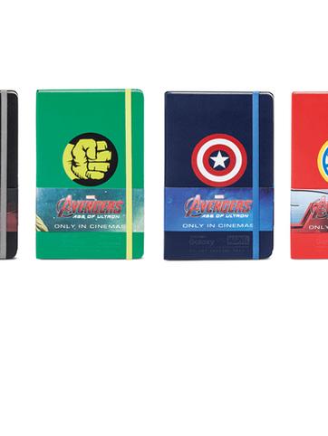 Moleskine - Special Edition Avengers - Notizgold