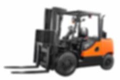 Neuer DOOSAN Diesel Gabelstapler 45 von 4,5 bis 5,5 Tonnen - Hahnen Gabelstapler am Niederrhein