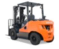 Neuen Diesel Gabelstapler von Doosan kaufen 2,0 bis 3,3 Tonnen - Hahnen Gabelstapler