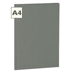 A4 Notizbuch von Semikolon in der Farbe Grey