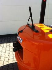 Automatik-Anhängezugvorrichtung inkl. Betätigung aus Fahrerkabine - Hahnen