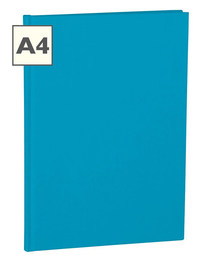A4 Notizbuch von Semikolon in der Farbe Turquois