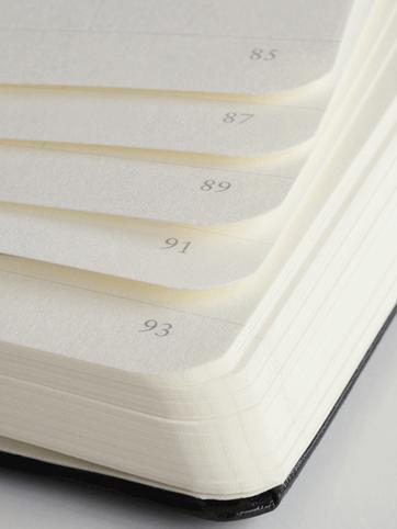 Nummerierte Seiten der Leuchtturm1917 Notizbücher - Notizgold