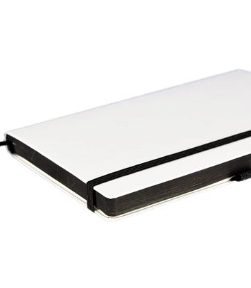 Notizbuch Brunnen Kompagnon White - Personalisieren bei Notizgold