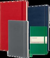 Individualisierte Notizbücher von Moleskine eignen sich bestens als Präsente für Mitarbeiter, Kunden & Geschäftspartner.