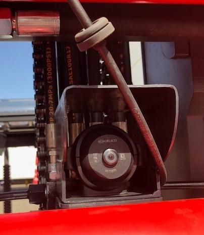 Frontkamera am Gabelstapler - Wir bei Hahnen bauen Ihnen ihr individuelle Kamerasysteme an Ihre Flurförderzeuge