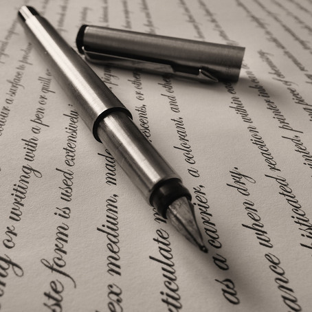 unverwechselbar - die Handschrift
