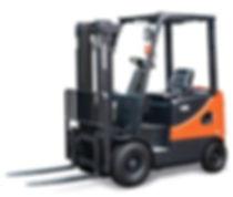 Außenansicht neuen Diesel Gabelstapler von Doosan kaufen 1,5 bis 2,0 Tonnen - Hahnen Gabelstapler
