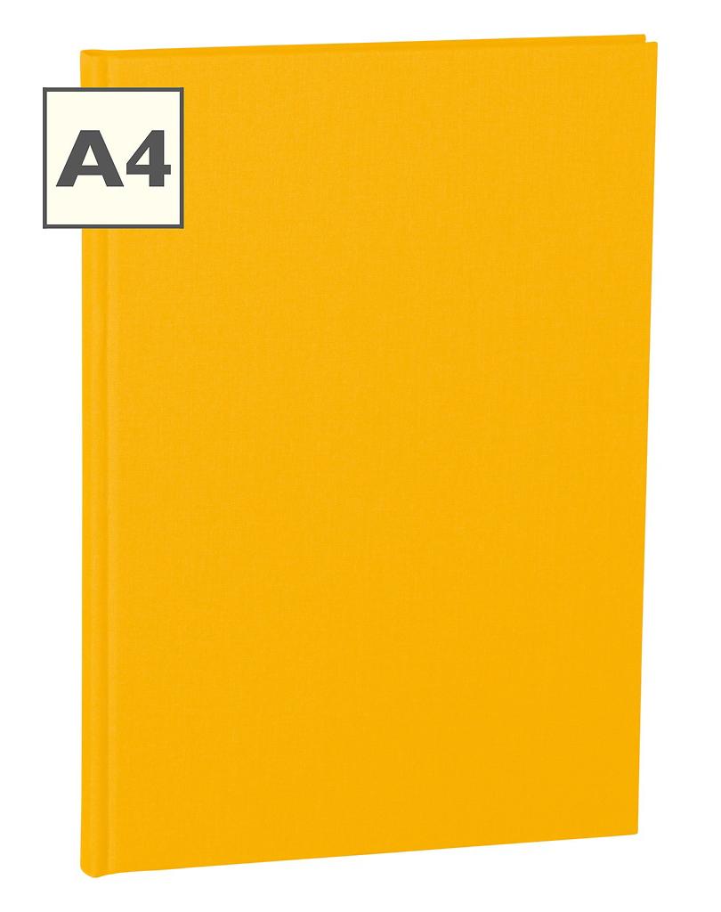 A4 Notizbuch von Semikolon in der Farbe Sun