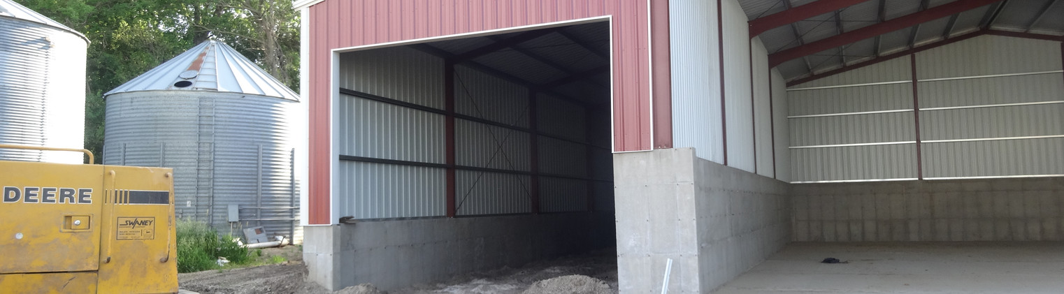 60 x 90 x 27  with 25 x 90 x 27 - 21'9.5'' and 20 x 90 x 27 - 22'10'' Lean-To's - 1683 (7)