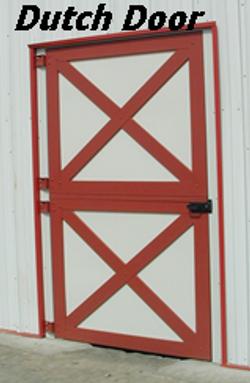 Dutch Door Outside