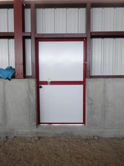 Dutch Door Inside