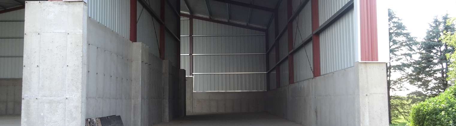 60 x 90 x 27  with 25 x 90 x 27 - 21'9.5'' and 20 x 90 x 27 - 22'10'' Lean-To's - 1683 (5)