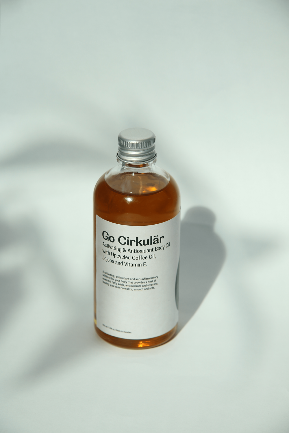 Go Cirkulär Activating Body Oil with Kaffoil - Kaffe Bueno's Upcycled Active Coffee Oil