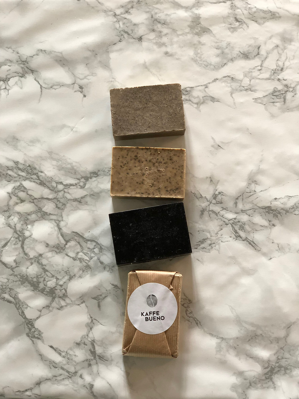 Back2Life Upcycled Coffee Soaps - using recycled coffee grounds