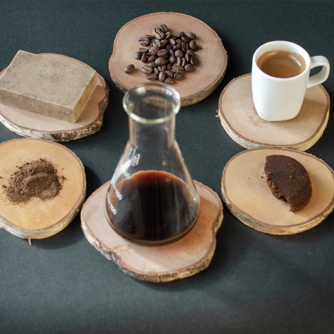 Back2Life Coffee Soaps by Kaffe Bueno