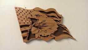 Screaming Eagle Flag